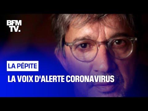 La voix d'alerte coronavirus