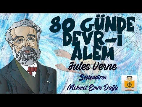 80 GÜNDE DEVR-İ ALEM - Jules Verne (Sesli Kitap) (MEB 100 Temel Eser)