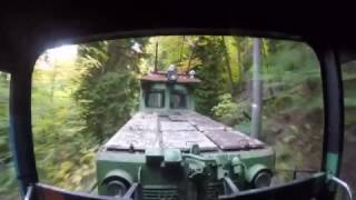 Узкоколейная железная дорога Боржоми-Бакуриани(В этом видео мы неторопливо едем по лесистым горам по узкоколейке из Бордоми в Бакуриани., 2016-10-29T06:03:15.000Z)