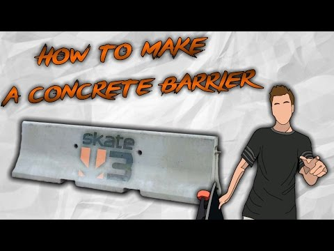 Skate 3 - How to make a Street Barrier