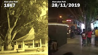 Alun Alun Pati Dulu vs Sekarang Tahun 1867 sd 2019 (Timelapse)