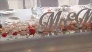 LED Cherry Blossom Bridal table Setting