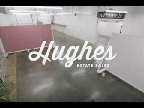 Hughes Estate Sales Los Angeles Showroom Liquidation Time Lapse