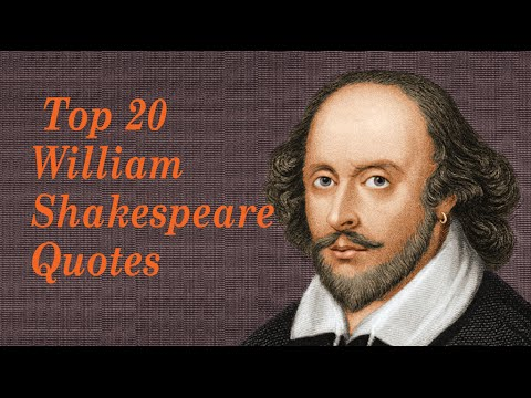 Top 20 William Shakespeare Quotes || Author of Romeo and ...William Shakespeare Romeo And Juliet Quotes