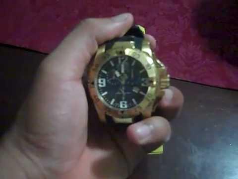 4a05e76228b Invicta Men s 6268 Reserve Collection Chronograph 18k - YouTube