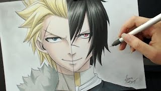 Speed Drawing - Sting | Rogue (Fairy Tail)
