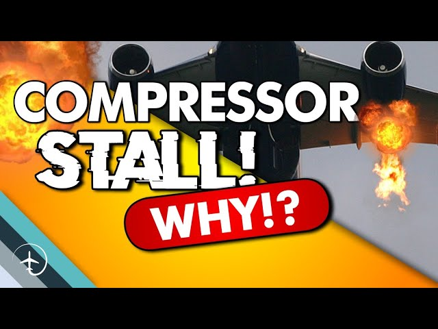 Can a Jet-engine cough?! Compressor-Stall.