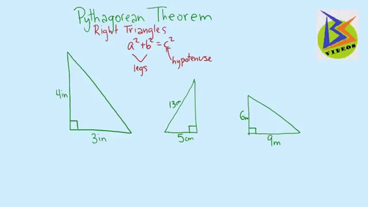 Finding side lengths of a right triangle using the pythagorean finding side lengths of a right triangle using the pythagorean theorem ccuart Gallery