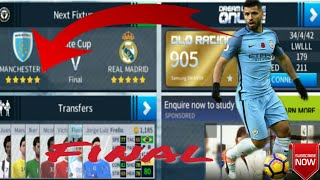 Real Madrid vs Manchester City - Division League Final - Dream League Soccer 2018