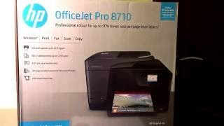 обзор на hp officejet pro 8710 with wi fi usb cable