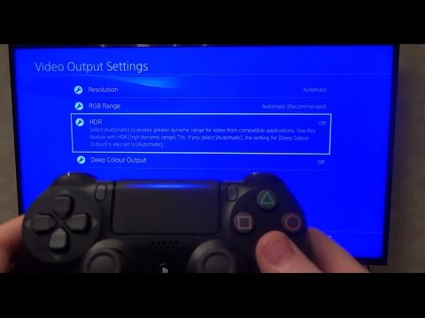 How To Setup Hdr Game Mode On Ps4 Slim Samsung Hdr 4k Tv