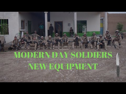 Military | Modern Day British Army | Soldiers Kit