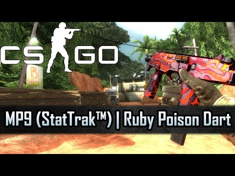 CS: GO - MP9 (StatTrak™) | Ruby Poison Dart | Factory New [PC]