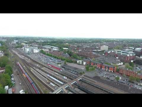 Drone View of Guildford, Surrey 29/04/17