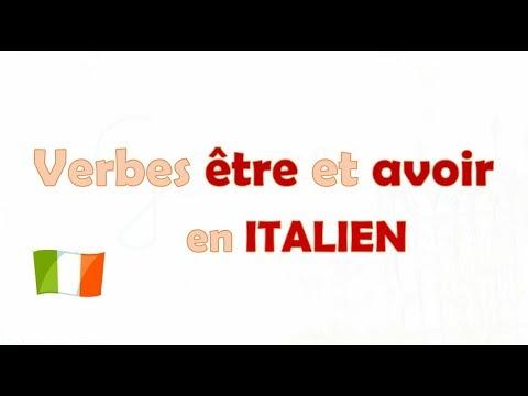 Verbes Etre Et Avoir En Italien Lezione 6 Youtube