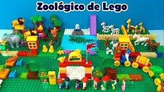 ESCOLHA 2 E VAMOS BRINCAR ! Zoológico de Lego da tia Cris - UAU QUE LEGAL !