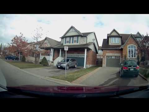 Drive Test Route for G Test in Orangeville Ontario Canada