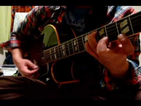 Round Midnight (Guitar Chord Voicing) on Gibson 1958 L-4C - YouTube