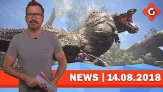 Monster Hunter World: Erste Probleme am PC! Insurgency: Jetzt kostenlos!   GW-NEWS