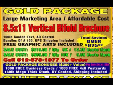 Direct Mail Packages Available on SaveHugeOnDirectMail.com