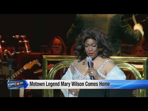 Motown legend Mary Wilson comes home