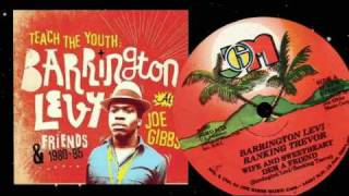 "Barrington Levy & Ranking Trevor - Wife And Sweetheart Dem A Friend 12"" 1982"