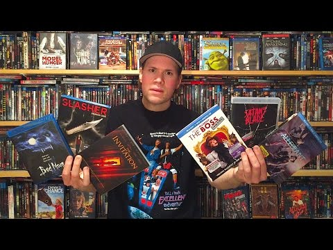 My Blu-ray Collection Update 7/9/16 : Blu ray and Dvd Movie Reviews