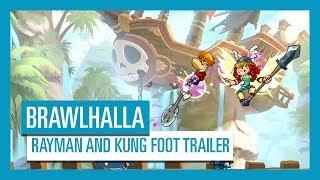 Brawlhalla - Rayman and Kung Foot Trailer