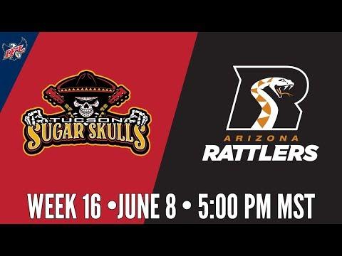 IFL Week 16 | Tucson Sugar Skulls at Arizona Rattlers