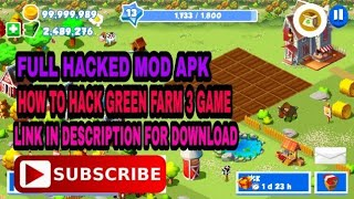 HOW TO HACK GREEN FARM 3 FULL HACKED MOD 100% WORKING