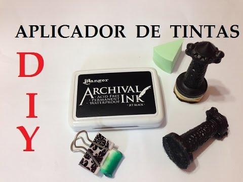 Aplicador de Tintas, como fazer? - DIY - (Blending Tool) - VIDEO