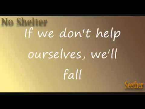 Seether - No Shelter *Lyrics*