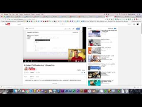 Embed an Audio Player in Google Sites