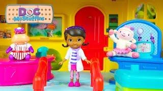 Doc McStuffins Toys Diagnosis Clinic Lambie Hallie Disney Toy