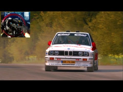 Dirt Rally GoPro E30 Germany Handbrakes!! Dirt Daily Snow Event - I GOT THIS!!