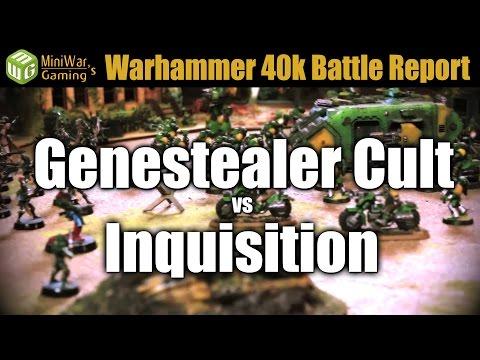 Genestealer Cult vs Inquisition Warhammer 40k Battle Report Ep 29