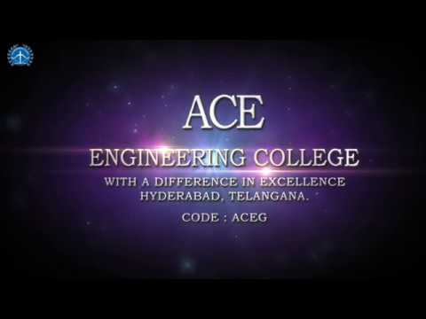 Ace Engineering College – Leading Engineering College