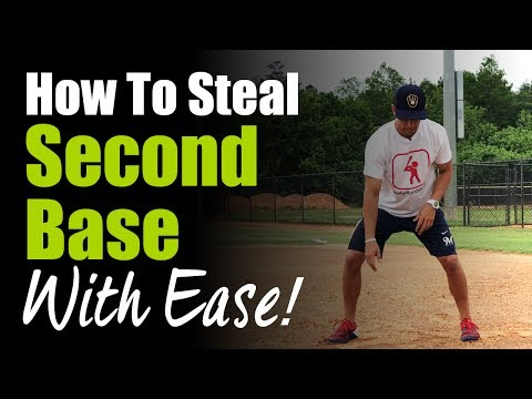 How To Steal 2nd Base With Ease!  Base Stealing Tips With Nick Shaw!