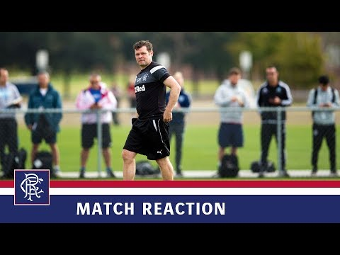 REACTION | Graeme Murty | Corinthians 2-4 Rangers