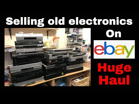 Make money on ebay UK selling old electronics.... HUGE HAUL