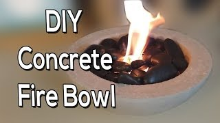 Concrete Fire Bowl (DIY)