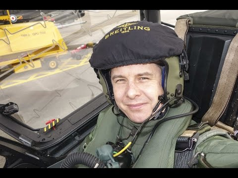 Interview with Paul Heasman on the BAE Hawk T1/T2