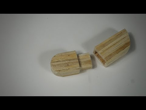 How To Make a Wooden USB Pendrive Craft -- Matchstick Art and Craft