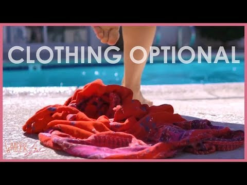 Clothing Optional At Living Waters Spa