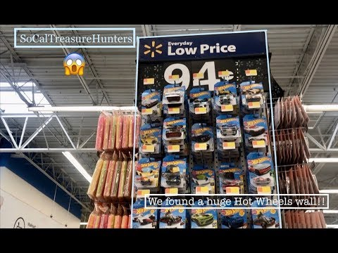 We Found a Wall of Hot Wheels and 8 Bins of Hot Wheels This Week Hot Wheels Hunting