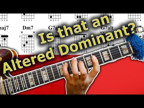How can that be an altered dominant? (The Best Hack)