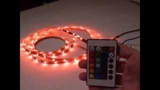 24keys rgb led strip 24 keys ir remote controller for led strip lights