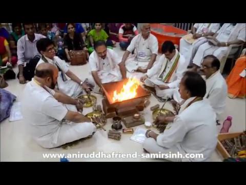 Aniruddha Bapu - Shree Dattamala Kaivalya Yag at Shree Aniruddha Gurukshetram - 11 March 2017