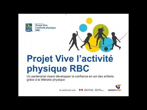 Webinaire présentation Vive l'activité physique RBC 2016