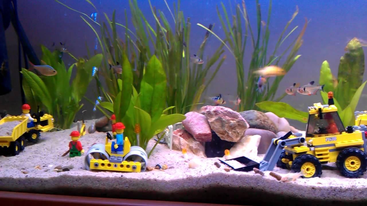 Lego fish tank mk2 youtube for Star wars fish tank decorations